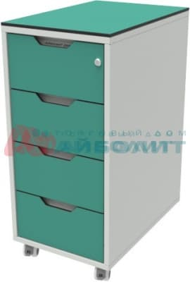 Attachable file cabinets
