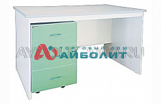 Writing table with a movable cabinet СКВ-1.1